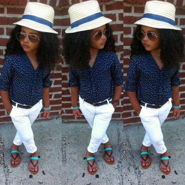 African American Gerber Baby