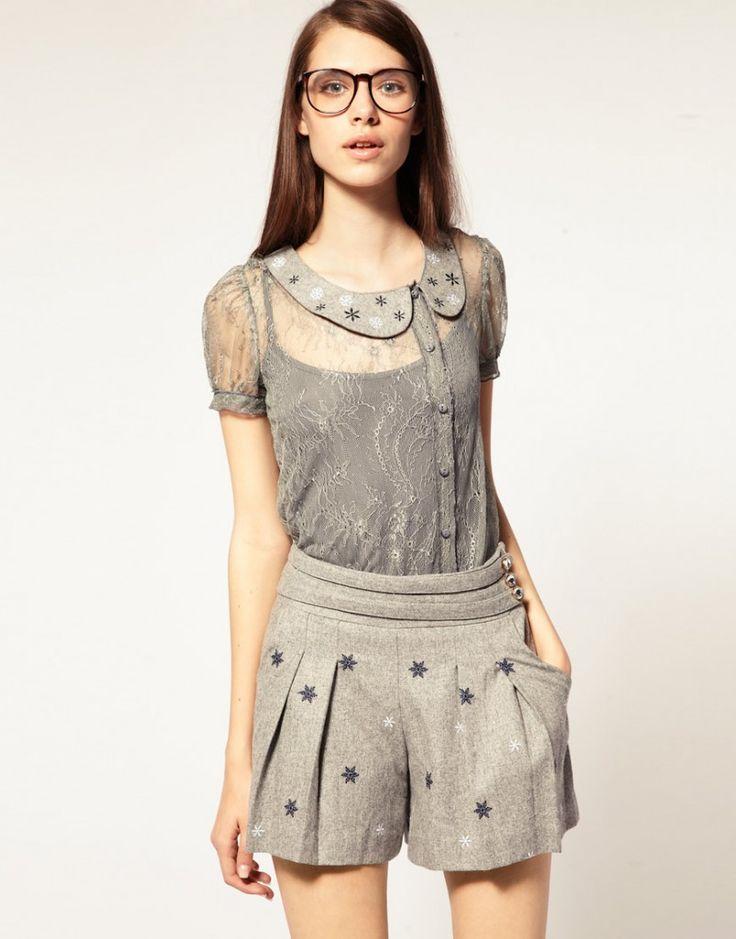estilo-blusa-de-renda: Everyday Fashion, Jumpers, Dresses, Style Pinboard