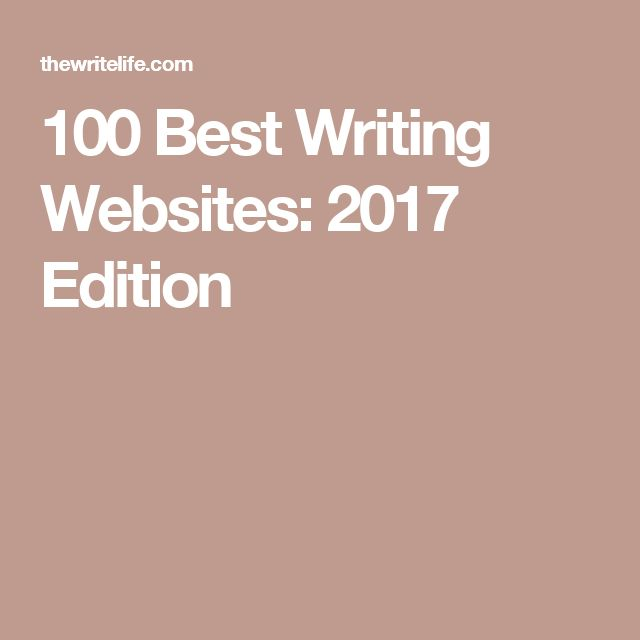 Writing tips websites