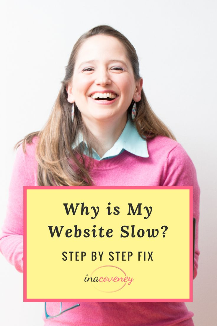 Why is my website so slow? My Blog Posts on Starting a Busin