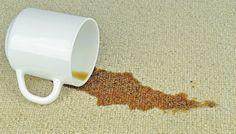 kaffeeflecken entfernen tricks