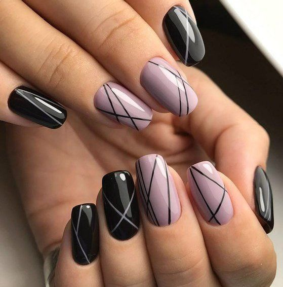 100 Nails design Nail arts | Nails | Trendy nails, Line nail designs ...