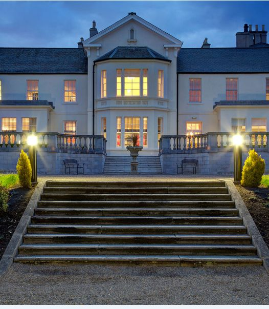 The 5* Seaham Hall. Set in the countryside yet still a stones throw from the beach - the best of both worlds!