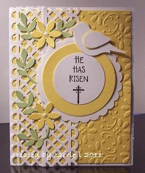 He Has Risen by stampnangel - Cards and Paper Crafts at Splitcoaststampers