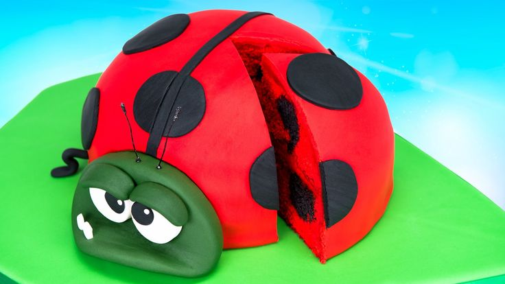 Download free! http://download.bestfiends.com Thanks Best Fiends for sponsoring this video! Today I'm showing you how to make a lady bug cake based off my fa...