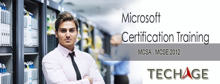 Best MCSA Training Institute In Noida,Delhi/NCR.Call For Details:- +91-9212063532, +91-9212043532 Visit:- http://www.techageacademy.com/mcsa/