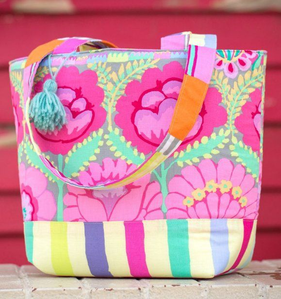 How to Sew the Double Flower Tote