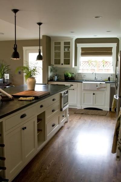 Wall Colors, Dreams Kitchens, Countertops, Kitchens Ideas, Farmhouse Sinks, Farmhouse Kitchens, Kitchens Cabinets, White Cabinets, White Kitchens