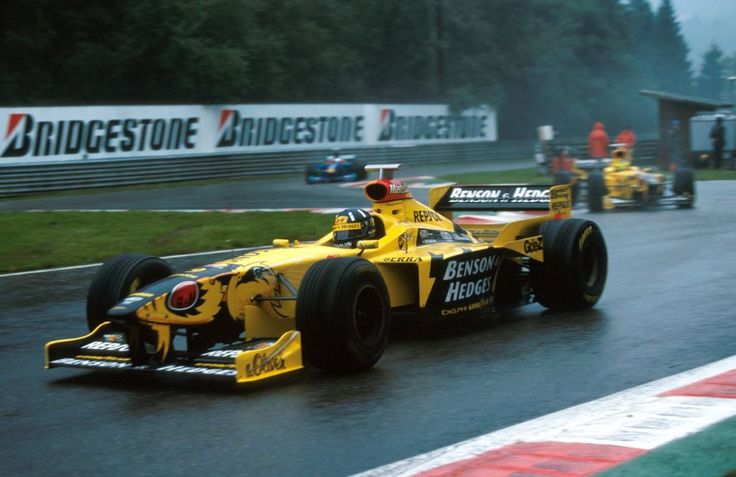 1998 - Jordan first F1 victory. Damon Hill earned Jordan their first ever Formula One at Spa, Belgium. Ralf Schumacher sweetened the victory by finishing second.