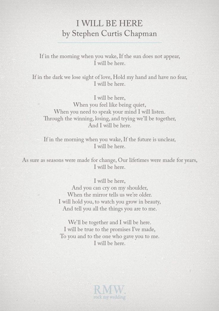 32 best Wedding Poems images on Pinterest   Wedding poems, Wedding ...