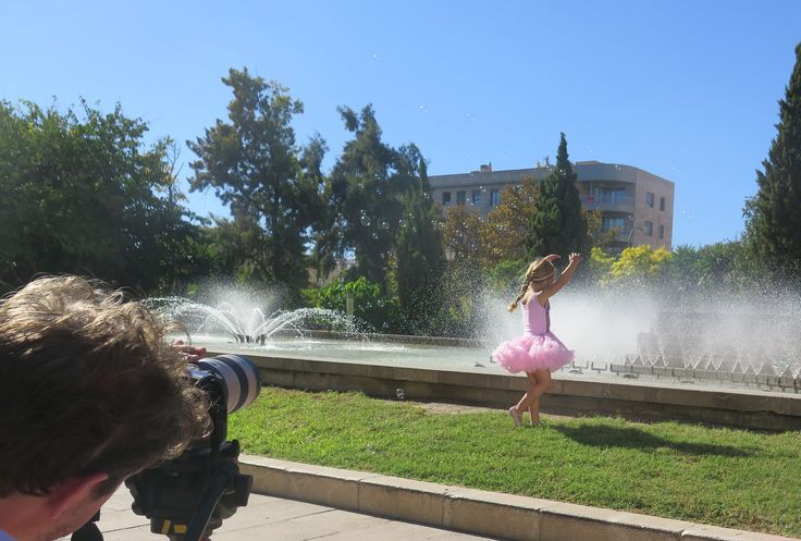 Behind the scenes of the Britax shoot from 2014 in Mallorca