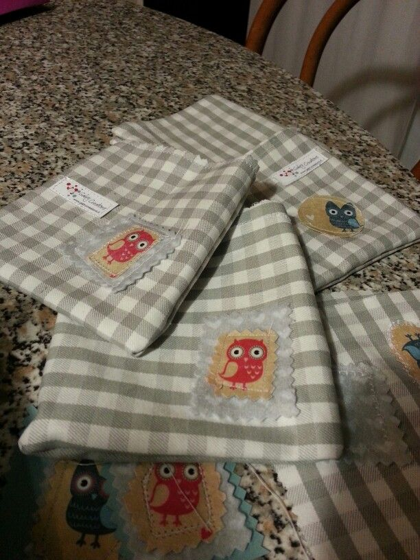 Packaging with owl