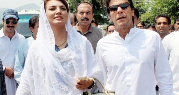 Imran Closes The Doors of PTI Politics for Reham Khan