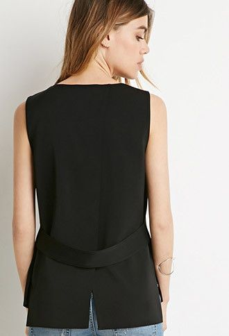 Banded Tulip-Back Top