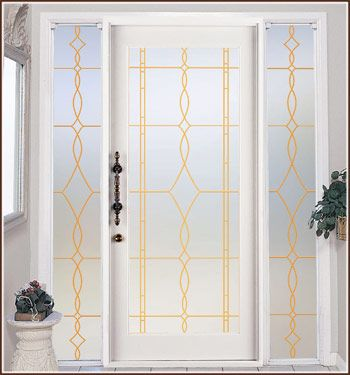 Allure Privacy in Gold Lead Lines.  Also available in a See-Through version. $19.95-79.95: Allure Privacy, Window Film, Allure Leaded, Glasses Privacy, Privacy Film, Gold Privacy, Leaded Glasses, Glasses Gold, Gold Leaded