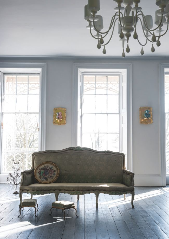 Farrow & Ball paint Dimpse is a cool gray named after a regional word for twilight.