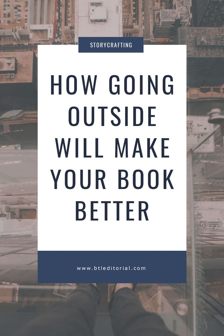 Going outside can generate inspiration and increase the quality of your writing. Explore the benefits of the outdoors with JT Pledger