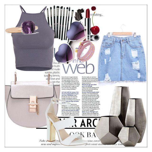 """Başlıksız #134"" by selincalis on Polyvore featuring moda, NLY Trend, Pomellato, Juicy Couture, Carvela, Revolution, Clinique, Cyan Design, Bobbi Brown Cosmetics ve women's clothing"