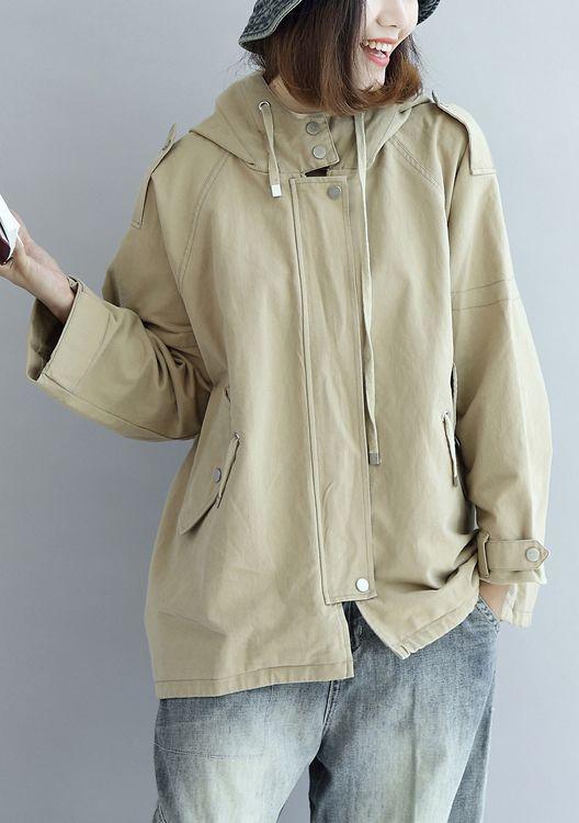Khaki-oversize-trench-coats-short-hoodies-wind-breaker-outwear1
