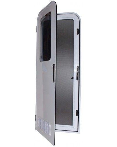 Camec Odyssey Premium Two Radius Caravan And Motorhome Entry Door