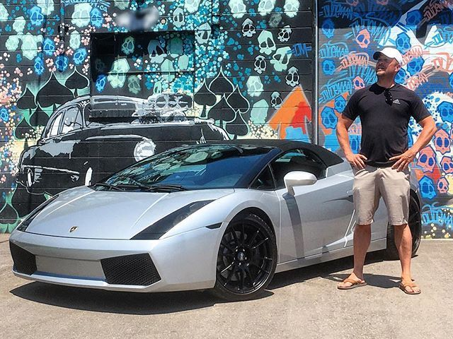 **SOLD** Craig Was Really Excited To Pick Up This Awesome 2006 Gallardo Spyder Wrapped In a Gloss Silver By @gtawrapz ! Congratulations & Enjoy! #VehicleDirect