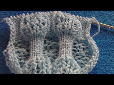 Drop stitch and st st - gonna chart this up and try it with Koigu