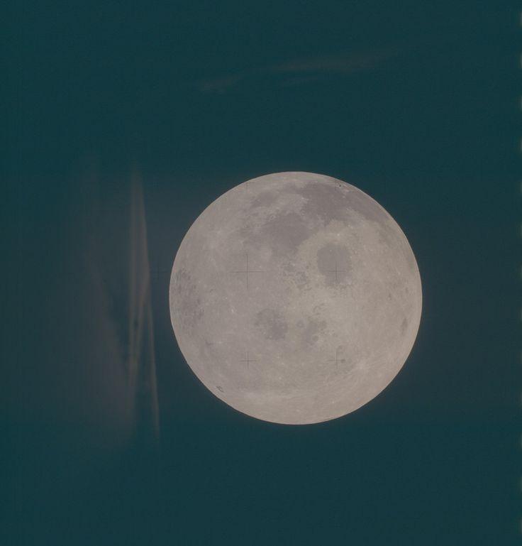 Apollo 13 Hasselblad image from film magazine 61/II - Trans-Earth Coast