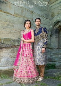 Asian bridal wear 56