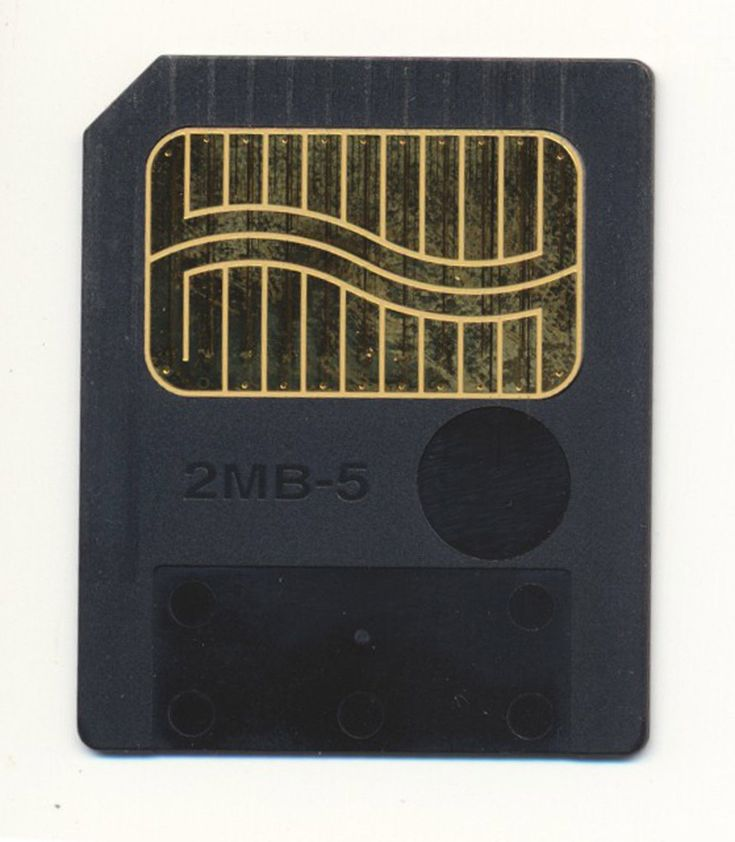 Vintage 2MB 5V 5 VOLT Fujifilm Memory Card For Roland Boss Apple QuickTake 200