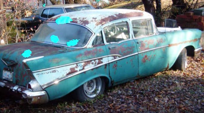 How To Convert A 1955 56 Or 57 Chevrolet From 4 Doors To 2 Doors Roadkill Customs I Dun No Chevrolet Super Chevy Magazine 1957 Chevrolet