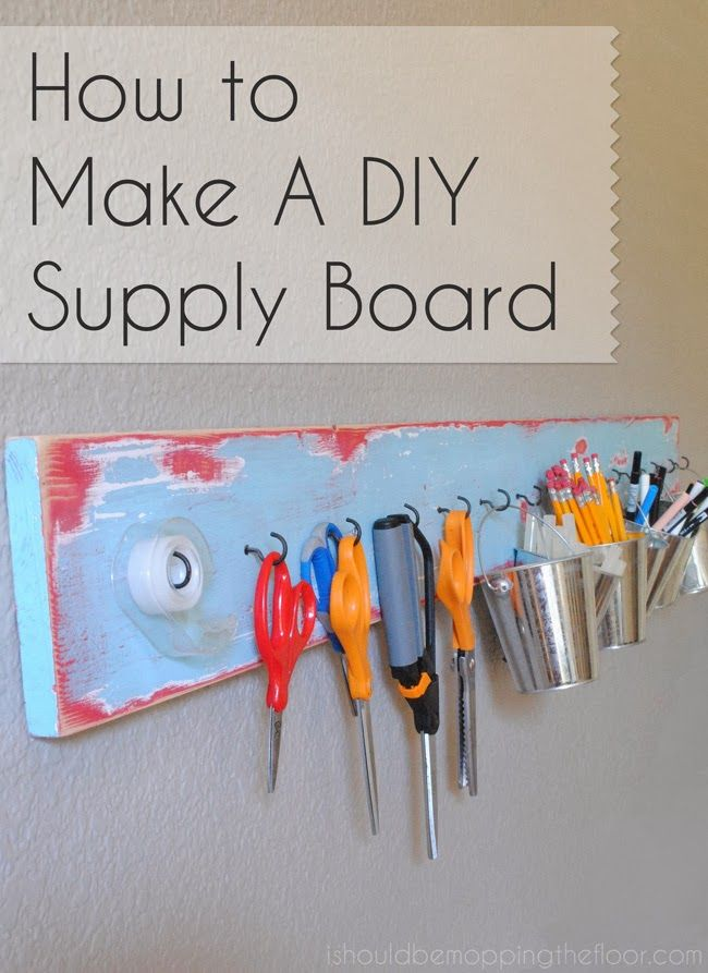 budget friendly home offices. easy and budgetfriendly tutorial on creating a supply board wahm mompreneur budget friendly home offices