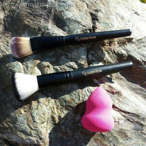 #makeup #makeupbrushes #goldenrose
