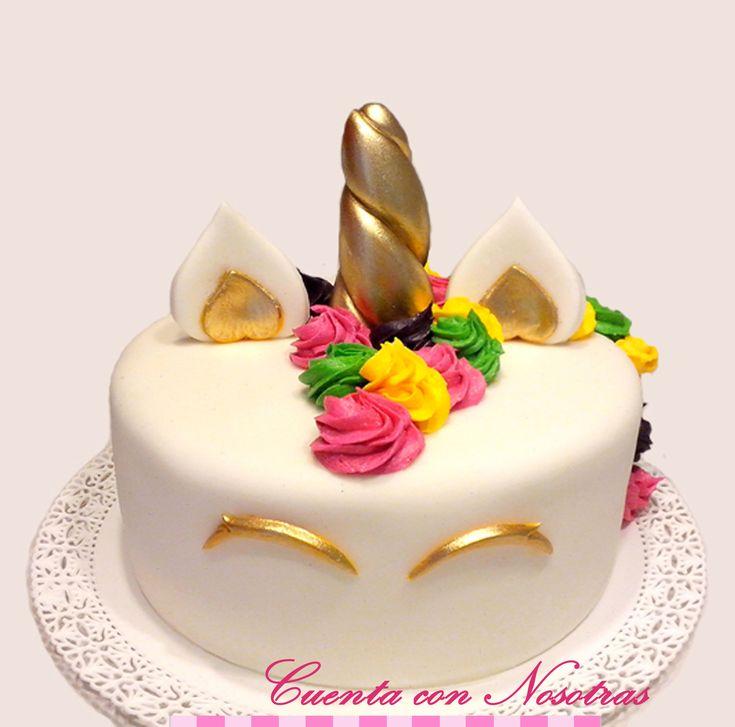 Torta unicornio Torta adolescente Cuenta con Nosotras