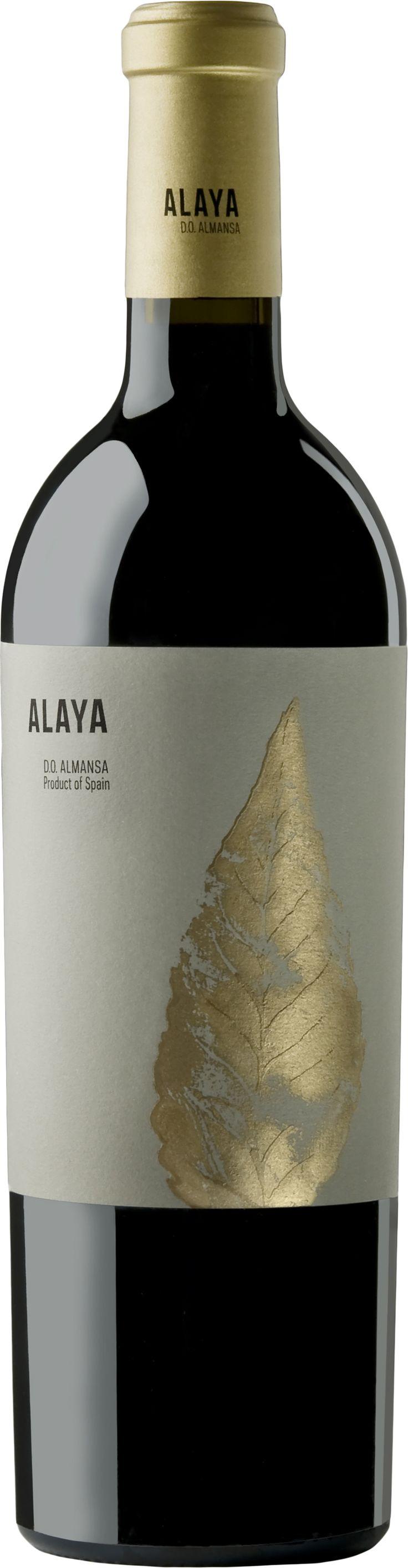 Vino tinto Alaya 2012 de Almansa D.O. Garnacha tintorera 100% Crianza de 15…