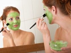 Homemade facial mask for oily skin - beauty products made at home