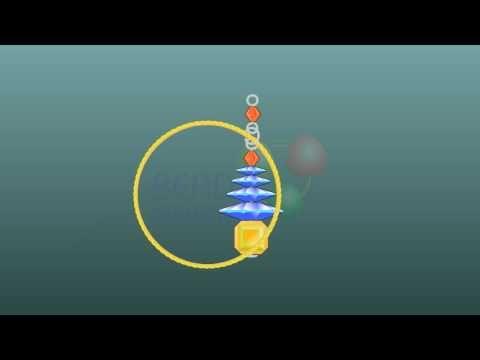Beading education Flash video Beadanimation _ How to make Beaded 02 A Christmas Tree Earring