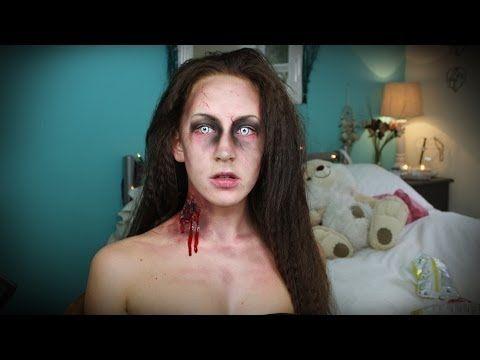 Zombie Makeup Tutorial   Halloween Series!