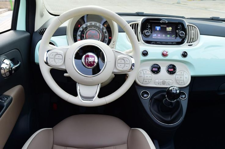 Fiat 500c 2015 Interior With Images Fiat 500c Fiat 500 Car
