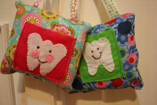 How To Make A Tooth Fairy Pillow || Pink And Green Mama