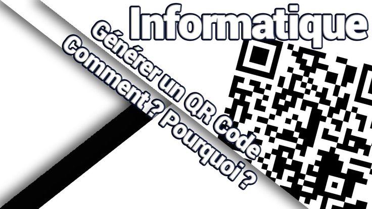 """Générer un QR Code personnalisé peut être très utile dans de nombreuses situations. Supplément numérique d'un tract / affiche / magazine, carte de visite """"définitive"""", contenu additionnel d'un CV, informations médicales à destination des secours, ...   Mais comment créer un QR Code contenant les infos souhaitées, facilement, rapidement et ... gratuitement ?  Je vous explique une méthode dans cette vidéo !"""