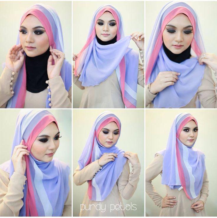 #hijab #tutorial #shawl #stepbystep #easy