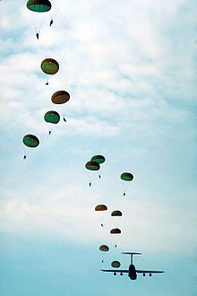 Several airborne units of the U.S. Army are stationed at Fort Bragg, notably the XVIII Airborne Corps HQ, the 82nd Airborne Division, and the United States Army Special Operations Command (USASOC).
