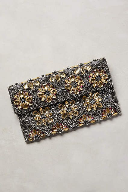 Beaded Botanic Clutch - #anthroregistry