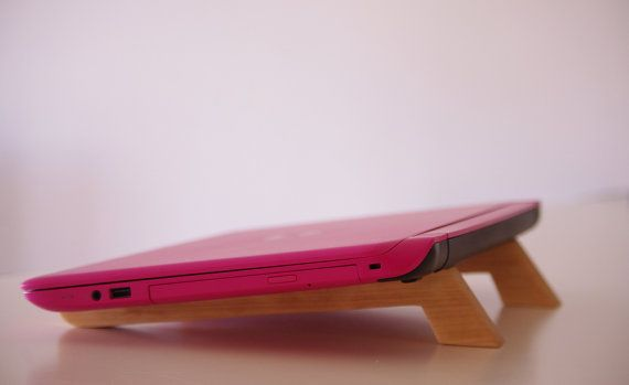 Wooden Handmade Laptop/notebook Stand by WoodMetamorphosisUK