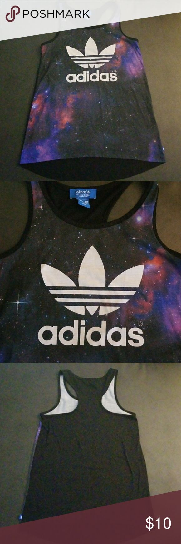 Adidas galaxy tank top Adidas galaxy long tank top adidas Tops Tank Tops