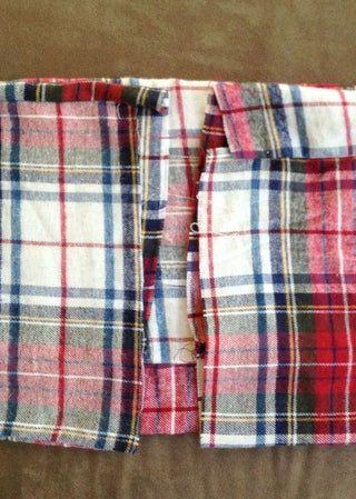 DIY Flannel Infinity Scarf | Diy blanket scarf, Diy ...