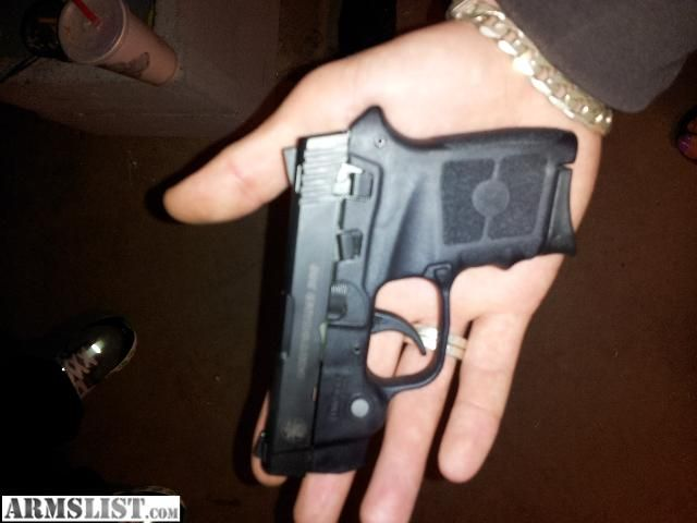 S & W Bodyguard .380 with laser sight . Want!!!!!