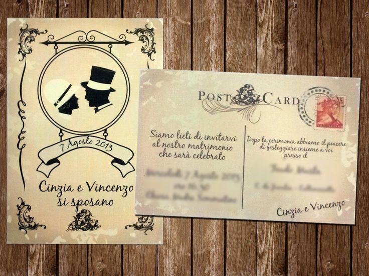 Preferenza Oltre 25 fantastiche idee su Cartolina di nozze su Pinterest  DP71