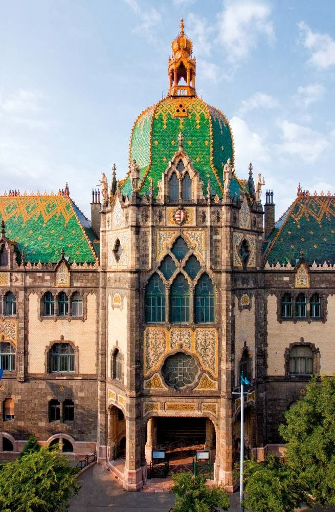 Museum of Applied Arts, Budapest by ArsDecorativa