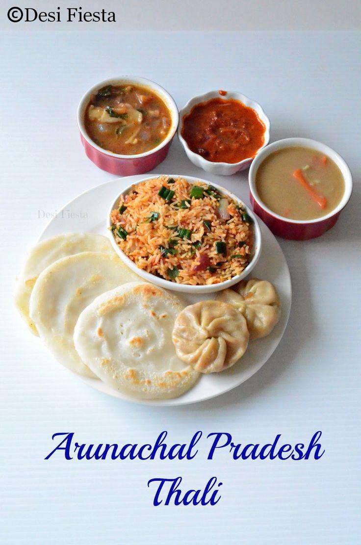 Arunachal Pradesh Thali